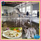 Chicken Toe Dehuller/ chicken paw peeling machine product line/ chicken feet peeling machine//0086-13703827012