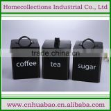 New design square coffee pot/tea pot/sugar container, cast iron cookware