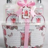 5 PCS BATH SET W/IRON CAGE