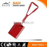 outdoor survival 3 fold Heavy duty aluminum snow shovel with steel handle