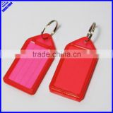 Hot-Sell cheap office plastic label blank key chains