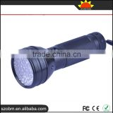 Wholesale OEM 51 LED 395nm - 400nm UV Purple Light LED Flashlight Torch