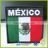Patch machine embroidered shield custom uniform embroidery badges