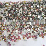 DMC rhinestone flat back non hotfix 6mm SS30 rainbow vitrail medium color for dress shoes