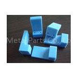 Blue nylon, MC machined plastic parts by material cutting, milling for medical equipment