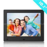 With SD Card Digital Photo Frame 10.1 Inch 1024*600 LED Edgelights Acrylic Magnetic Digital Photo Frame