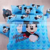 (Creazy cheap) Children cartoon bedding set 3/4pcs boy&girl 100% cotton bedding set for kids