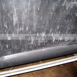 100% natural black latex sheet in 0.6mm