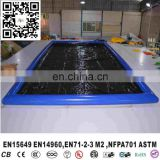 Commercial Machine Customized Water Containment Mat Pvc Portable Inflatable Car Wash Mats