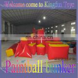 2013 outdoor Inflatable paintball bunkers for battle