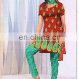 indian clothing 2016 cotton fabrics cheap rate salwar kurtis very popular in australia