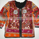 Handmade Banjara full Sleeves Jacket Antique Mirror work ladies coat Ethnic Jacket Wholesale
