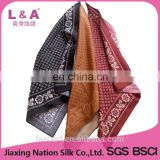 Children 100% cotton scarf square handkerchief