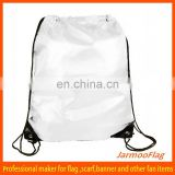 wholesale customized silk drawstring bag
