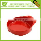 Hot Custom Logo Advertising Plastic Pet Bowl