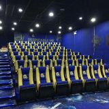 High back leather folding cinema chair,public movie theater cinema seat