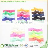 FOE knotted elastic hairband hair ties many colors
