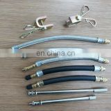 Auto tire valve extensions with high flexible