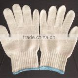 cotton knitted gloves/ cheap working gloves/ safety glove hand protecting CE standard approved