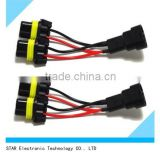 Competitive price Hid relay 9005 9006 electrical motorcycle headlight led light wire harness
