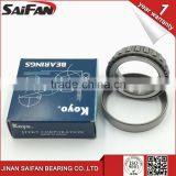 Rolling Mill Koyo Inch Taper Roller Bearing CR-1252L Roller Bearings Sizes 60*98*30.7mm Koyo Bearings