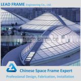 High standard prefabricated steel structure sport hall