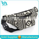Best Seller Aztec Canvas Waist Bag Custom Logo Canvas Waist Bag 2016