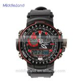 2015 wholesale G style shock clock men military outdoor waterproof 50m dive swim japan quartz MIDDLELAND shock digital watch