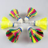 Colorful Badminton Shuttlecock G2010 Good quality hot sale
