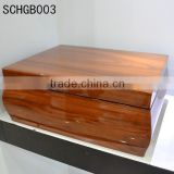 Highly welcomed high gloss wooden jewellery box