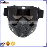 BJ-MG-022 New Arrival Off Road Modular Face Mask Name Brand Goggles Custom Motocross Goggle Frame TPU