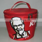 2mm Alu Foam polyester insulating effect cooler bag,cheap ice cream cooler bag for KFC                                                                         Quality Choice