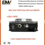 Mini Bus 3G Gps MDVR 720p Vehicle Blackbox DVR                                                                         Quality Choice