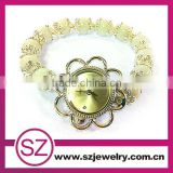 SWH0643-5 china supplier gen stone beaded bracelet handmade watches