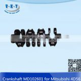 Crankshaft MD102601 4D56 For Mitsubishi