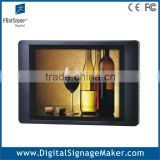 "Indoor supermarket used 15"" 1080P HD lcd advertising player/monitor/digital signage"