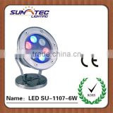 Underwater led light for boat