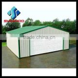 Steel structure building construction cheap prefab garage                                                                         Quality Choice