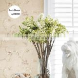 clearance printing paper wallpaper, royal scroll wall covering for closet room , new fashion wallcovering designs