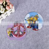 creative cartoon 3d effect wall poster embossed pvc blister card plastic card for kids
