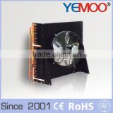 1.5kw YEMOO R134a cold room H type small cooling condenser with copper pipe