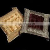 Silk Brocade lux CHAIR CUSHIONS small