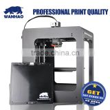WANHAO Dupalictor6 desktop with LCD screen and cover in smart and easy operation, max printing speed 150mm/s