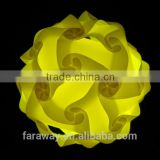 colorful IQ event PP lamp for party