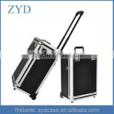 Professional Waterproof Shockproof Aluminum Trolley Case, Makeup Case With Drawers ZYD-HZMcbc005