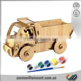 New design Vehicle puzzle Wooden educational toy