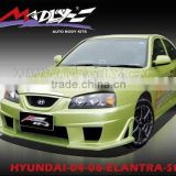 Fiberglass body kits for 04-06-ELANTRA