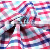40s shirting fabric, 100 cotton woven yarn dyed fabric, in stock