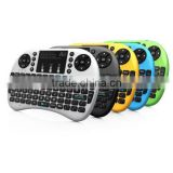 2.4ghz wireless i8 mini gaming keyboard for TV box, tablet pc , laptop ,