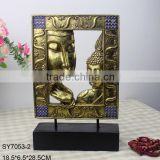 Buddha figure carving tabletop home decoration.                                                                         Quality Choice